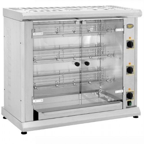 Roller Grill RBE120Q Three Spit Electric Rotisserie Rotisseries